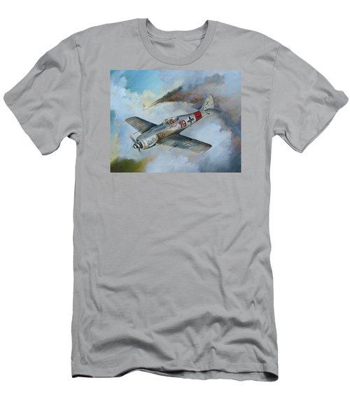 Focke Wulf Fw-190 Men's T-Shirt (Slim Fit) by Stuart Swartz