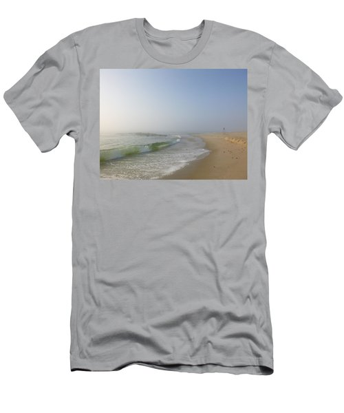 Fog And Blue Sky 2 Men's T-Shirt (Slim Fit)