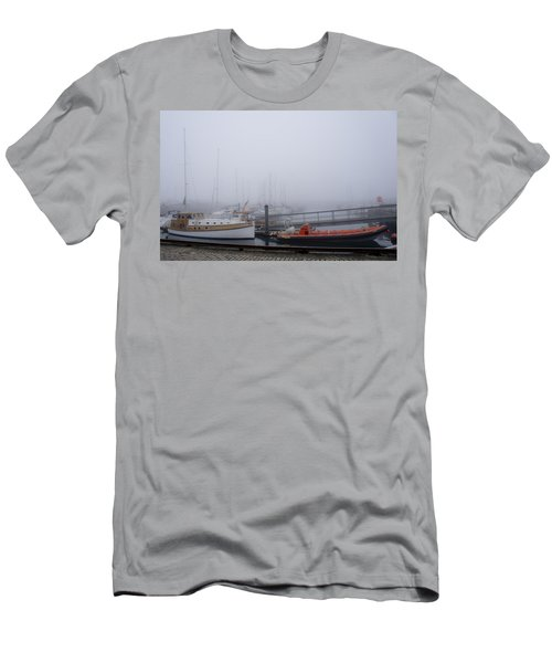 Fog In Marina IIi Men's T-Shirt (Athletic Fit)