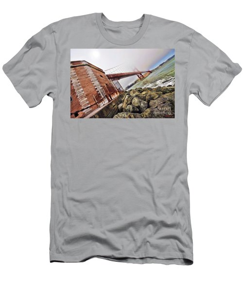 Foggy Gates Men's T-Shirt (Athletic Fit)