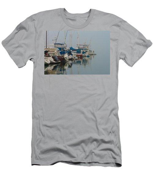 Foggy Harbor Men's T-Shirt (Athletic Fit)