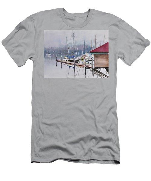 Foggy Dock Men's T-Shirt (Athletic Fit)