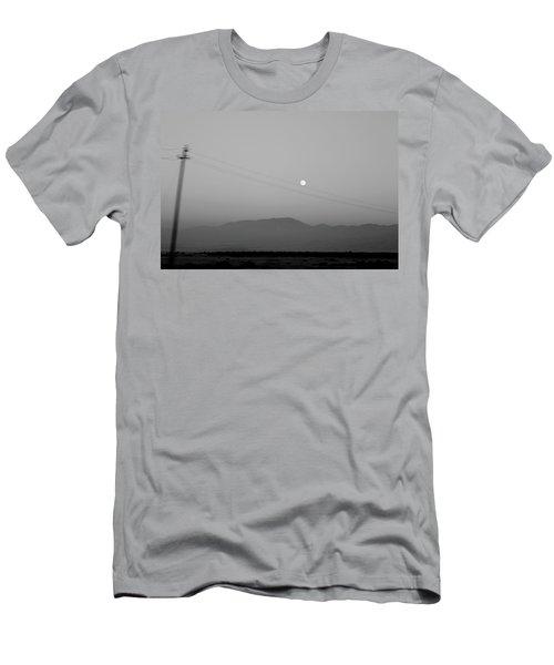 Follow The Moon Men's T-Shirt (Athletic Fit)