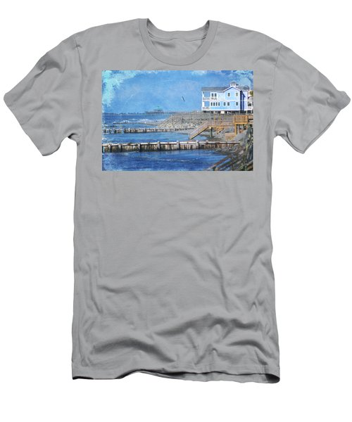 Folly Beach Men's T-Shirt (Athletic Fit)