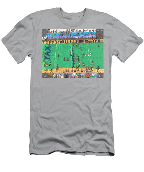 Football Men's T-Shirt (Athletic Fit)