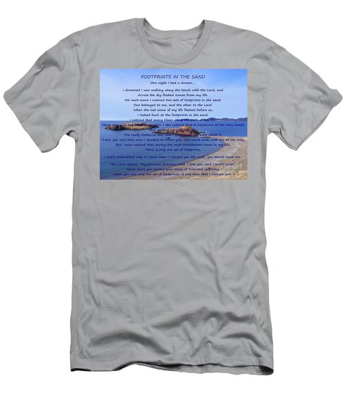 Footprints In The Sand 2 Men's T-Shirt (Athletic Fit)