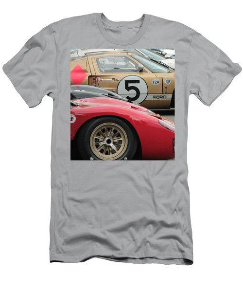 Ford Gt 40's Men's T-Shirt (Athletic Fit)
