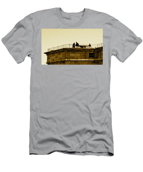 Fort Delaware Cleaning Crew Men's T-Shirt (Athletic Fit)