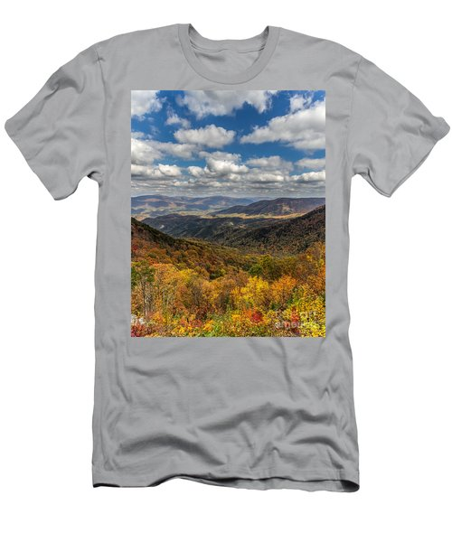 Fort Mountain Men's T-Shirt (Athletic Fit)