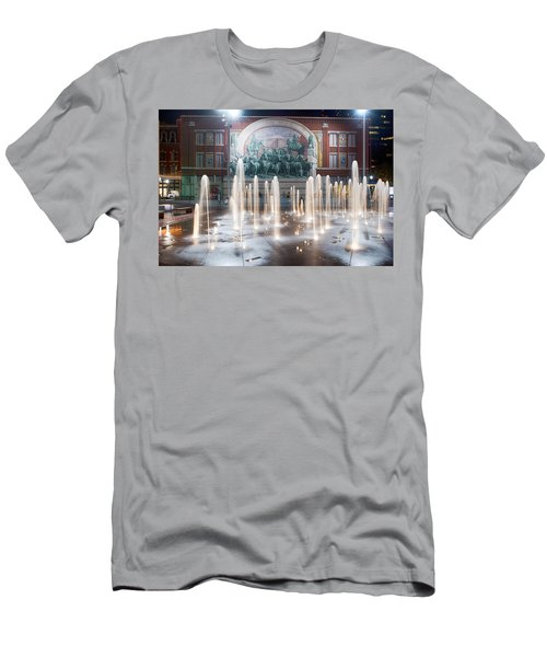Fort Worth Sundance Square Aug 2014 Men's T-Shirt (Athletic Fit)