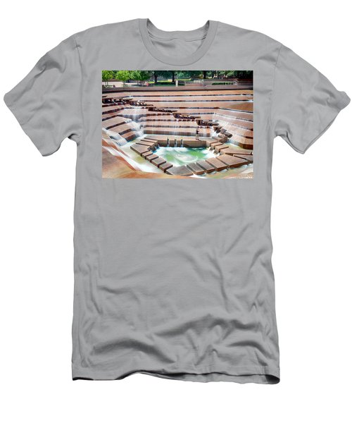 Fort Worth Water Garden V7 Men's T-Shirt (Athletic Fit)