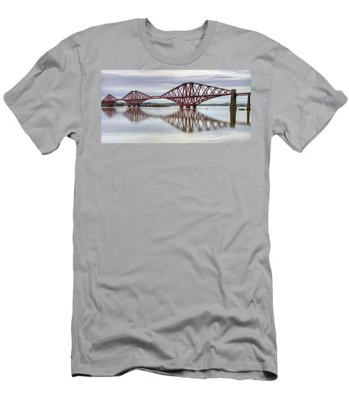 Forth Bridge Reflections Men's T-Shirt (Athletic Fit)