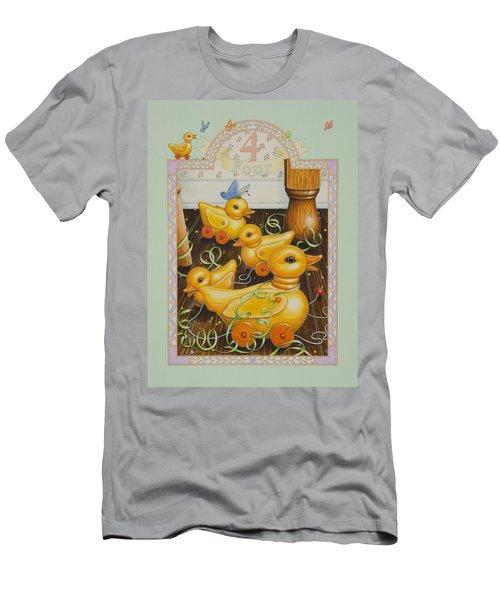 Fourth Birthday Men's T-Shirt (Athletic Fit)