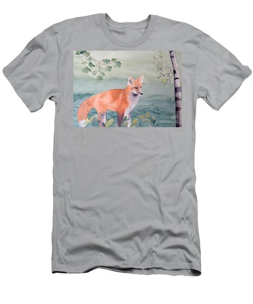 Fox And Birch Men's T-Shirt (Athletic Fit)