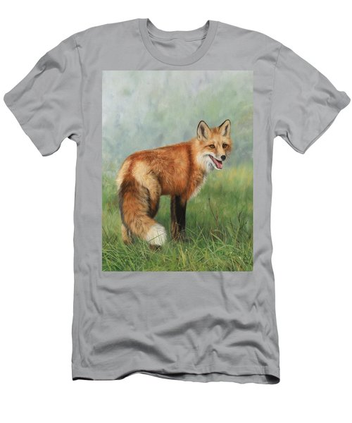 Fox  Men's T-Shirt (Slim Fit)
