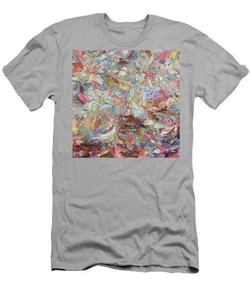 Fragmented Hill - Square Men's T-Shirt (Athletic Fit)
