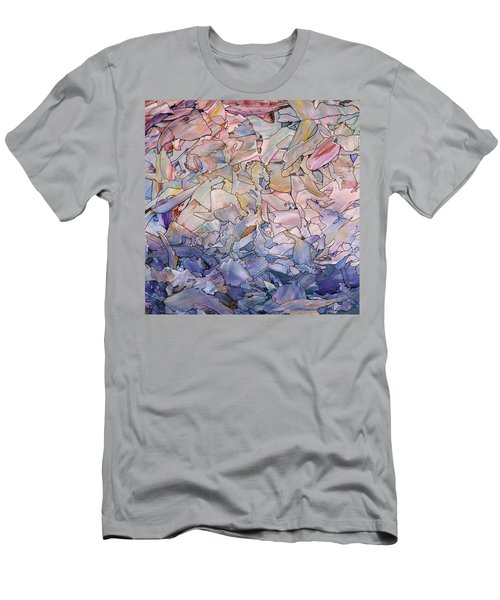 Fragmented Sea - Square Men's T-Shirt (Athletic Fit)