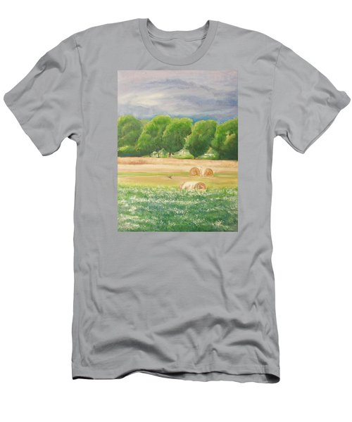 Men's T-Shirt (Slim Fit) featuring the painting Freedom by Jane  See