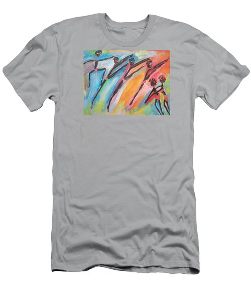 Freedom Joyful Ballet Men's T-Shirt (Athletic Fit)