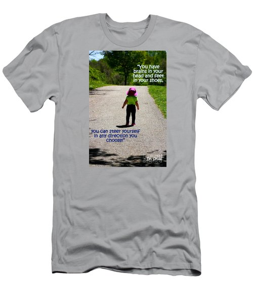 Momentary Freedom Men's T-Shirt (Slim Fit) by Patti Whitten
