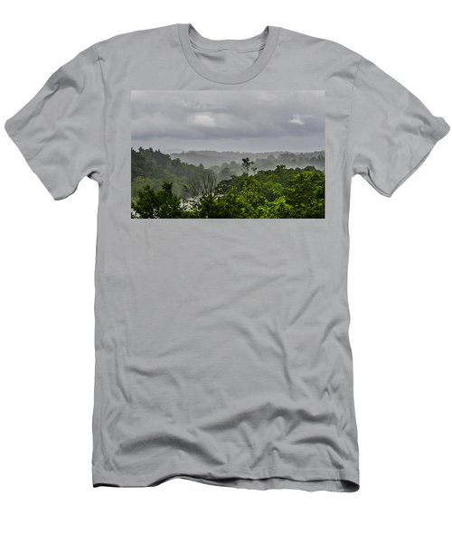 French Broad River Men's T-Shirt (Athletic Fit)