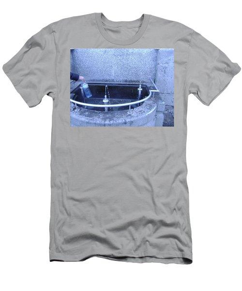 Fresh Water Men's T-Shirt (Athletic Fit)