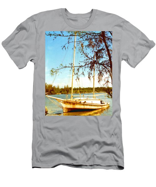 Freya At Black Point Marina Men's T-Shirt (Athletic Fit)