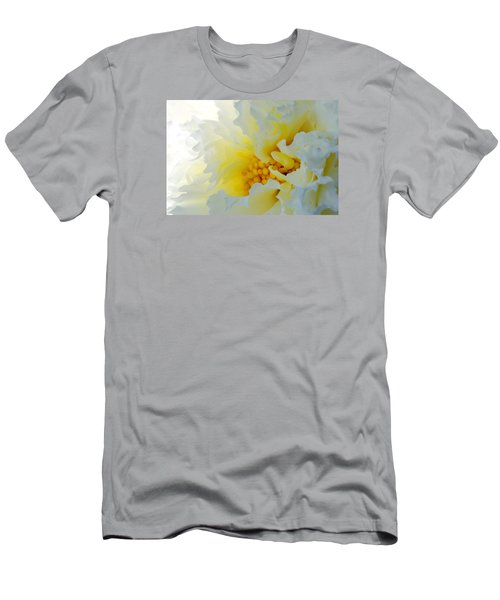 Men's T-Shirt (Slim Fit) featuring the photograph Frilling by Wendy Wilton