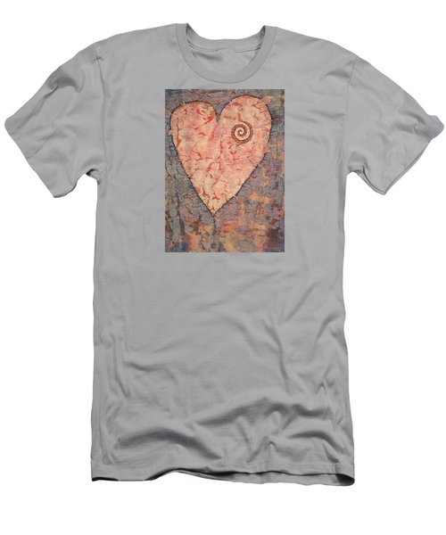 From The Heart Men's T-Shirt (Slim Fit) by Lynda Hoffman-Snodgrass