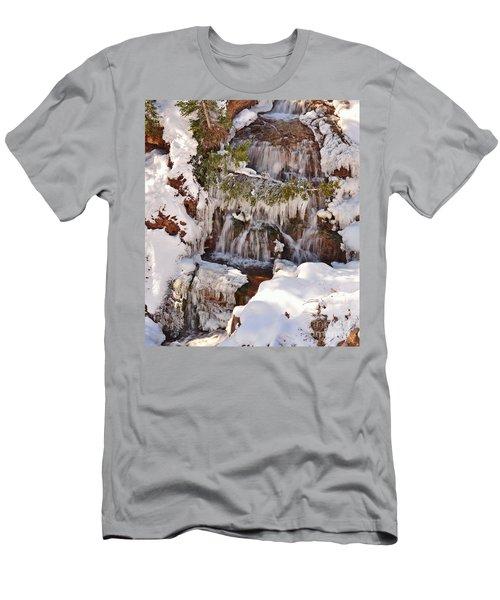 Frosty Cascades Men's T-Shirt (Athletic Fit)