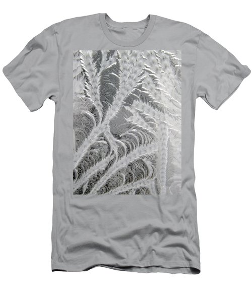 Frosty Window Art Men's T-Shirt (Athletic Fit)