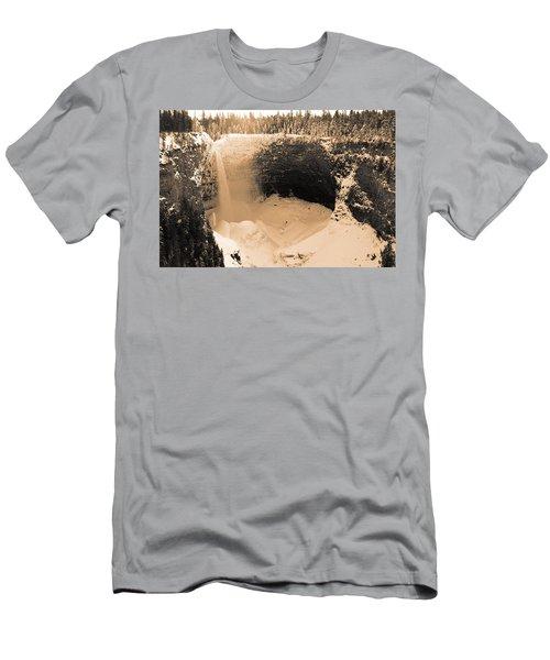 Frozen Falls Men's T-Shirt (Athletic Fit)