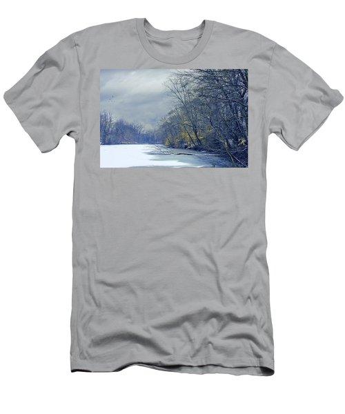 Frozen Pond Men's T-Shirt (Athletic Fit)