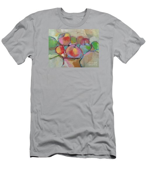 Men's T-Shirt (Slim Fit) featuring the painting Fruit Bowl #5 by Michelle Abrams