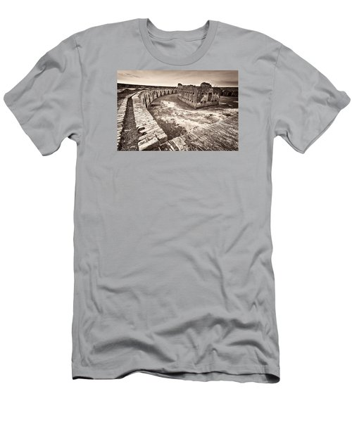 Men's T-Shirt (Slim Fit) featuring the photograph Ft. Pike Overview by Tim Stanley