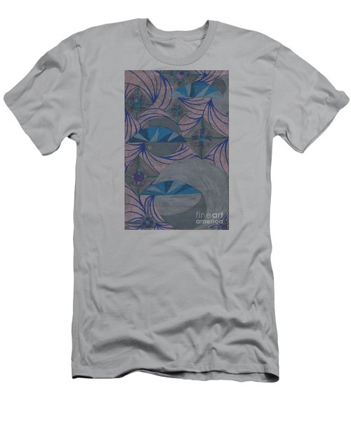 Men's T-Shirt (Slim Fit) featuring the drawing Galactic by Kim Sy Ok