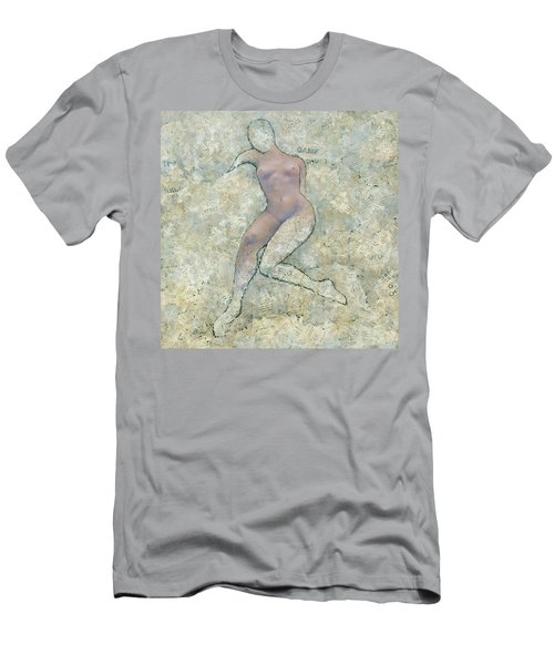 Men's T-Shirt (Athletic Fit) featuring the painting Game Over by Steve Mitchell