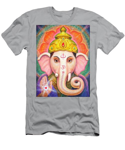 Ganesha's Blessing Men's T-Shirt (Athletic Fit)