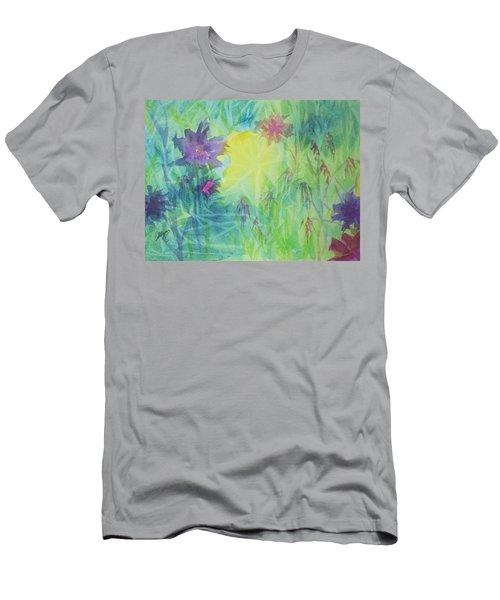 Garden Vortex Men's T-Shirt (Athletic Fit)