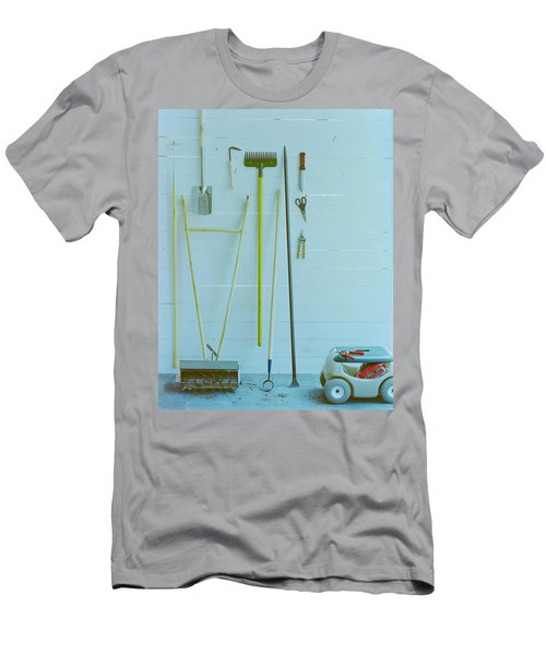 Gardening Tools Men's T-Shirt (Athletic Fit)