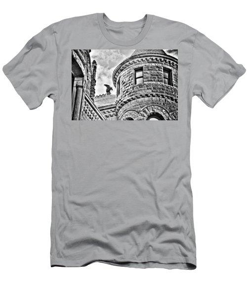 Gargoyle Men's T-Shirt (Slim Fit) by Mark Alder