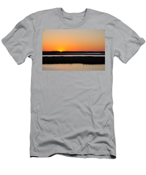 Georgia Sunset Men's T-Shirt (Athletic Fit)