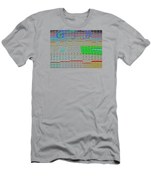 German Cityscape Men's T-Shirt (Athletic Fit)