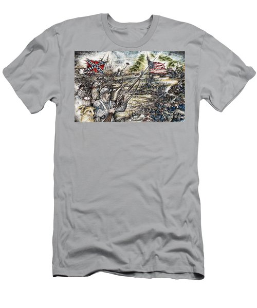 Gettysburg Ash's At The Angle Men's T-Shirt (Athletic Fit)
