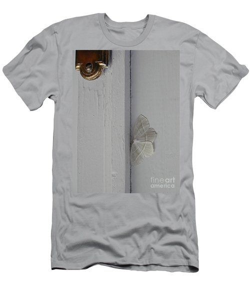 Ghost Doorbell Moth Men's T-Shirt (Athletic Fit)