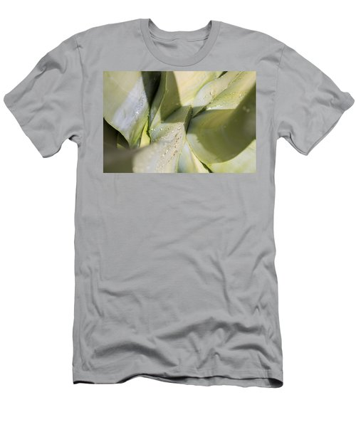 Giant Agave Abstract 3 Men's T-Shirt (Athletic Fit)
