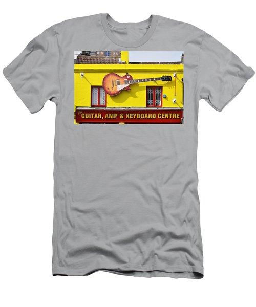 Giant Gibson Les Paul Men's T-Shirt (Athletic Fit)