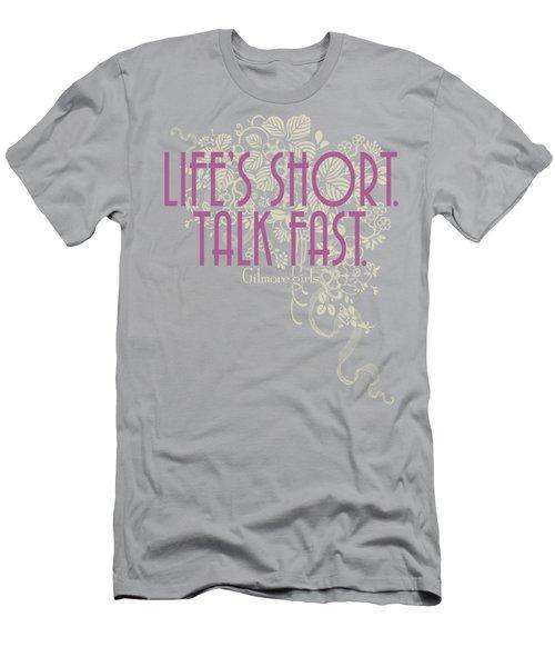 Gilmore Girls - Lifes Short Men's T-Shirt (Athletic Fit)