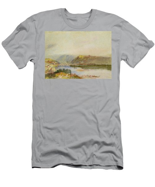 Givet From The North, C.1839 Gouache And Wc Men's T-Shirt (Athletic Fit)