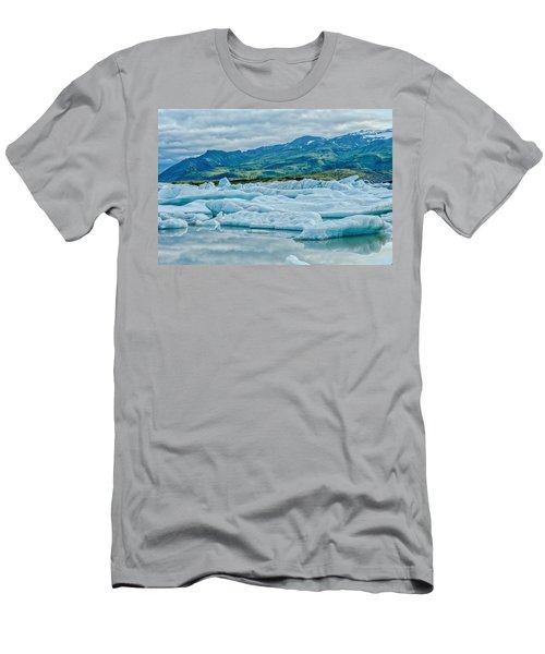 Glacier Lagoon  Men's T-Shirt (Athletic Fit)